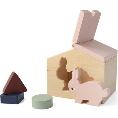 Maison à formes en bois lapin Mrs. Rabbit  par Trixie