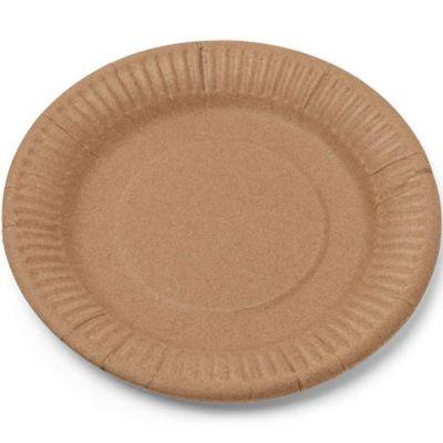 Lot de 12 assiettes en carton kraft  par Arty Fêtes Factory