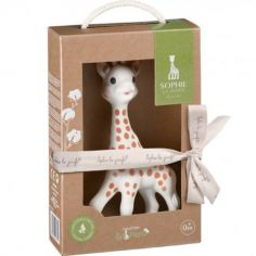 Sophie la girafe en caoutchouc naturel So'pure (18 cm)