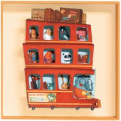 Tableau relief Big bus - Little big room by Djeco