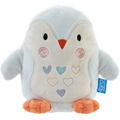 Peluche bruit blanc Grofriends Percy le pingouin (22 cm)