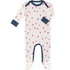 Pyjama léger Tulipe rouge (3-6 mois)