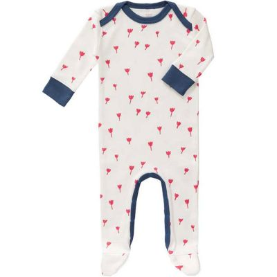 Pyjama léger Tulipe rouge (3-6 mois)  par Fresk