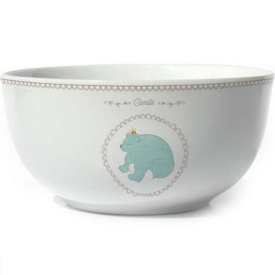 Bol en porcelaine Ours (personnalisable)  par Gaëlle Duval