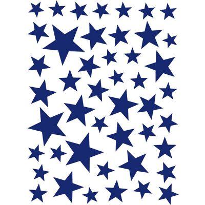 Stickers Etoiles bleu marine Art for Kids
