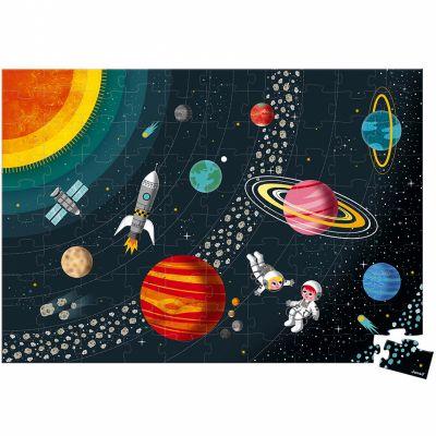 Puzzle éducatif Le système solaire (100 pièces)  par Janod