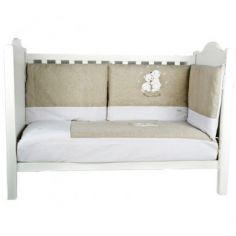 Tour de lit Nougat et Cannelle (pour lits 60 x 120 cm et 70 x 140 cm)