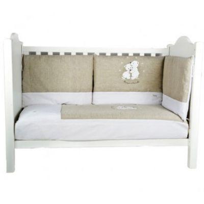 Tour de lit Nougat et Cannelle (pour lits 60 x 120 cm et 70 x 140 cm)  par Nougatine