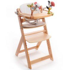 Chaise haute évolutive en bois 3 en 1 Boho Chic