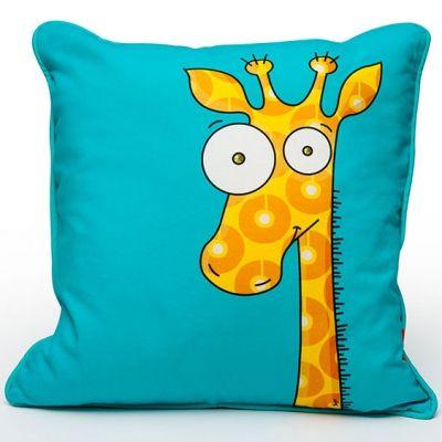 Coussin girafe (40 x 40 cm) Série-Golo