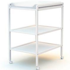 Table à langer en bois de hêtre Essentiel blanc