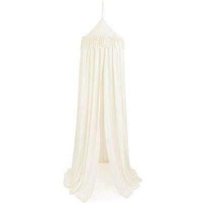 Ciel de lit en coton écru Boho  par Cotton&Sweets
