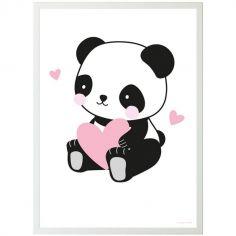 Affiche Panda love (50 x 70 cm)