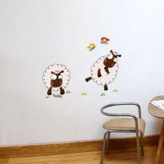 Stickers muraux Les moutons