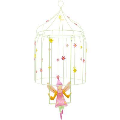 Mobile décoratif Les volières à elfes Fleur  par L'oiseau bateau