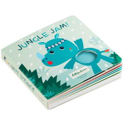 Livre bébé tactile et sonore Jungle Jam  par Lilliputiens