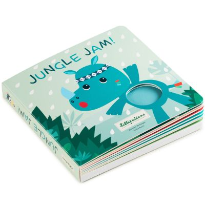 Livre bébé tactile et sonore Jungle Jam Lilliputiens
