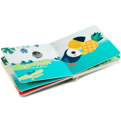 Livre Bebe Tactile Et Sonore Jungle Jam