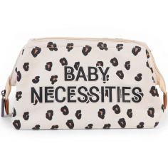Trousse de toilette Baby necessities canvas léopard