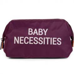Trousse de toilette Baby necessities aubergine