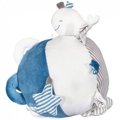 Balle d'activités Blue baleine  par Sauthon