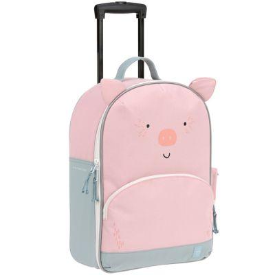 Valise trolley About Friends Bo le cochon  par Lässig