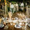 Lot de 6 décorations de table Baptême de rêve  par Arty Fêtes Factory
