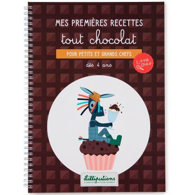 Livre de recettes Mes premières recettes tout chocolat  par Lilliputiens