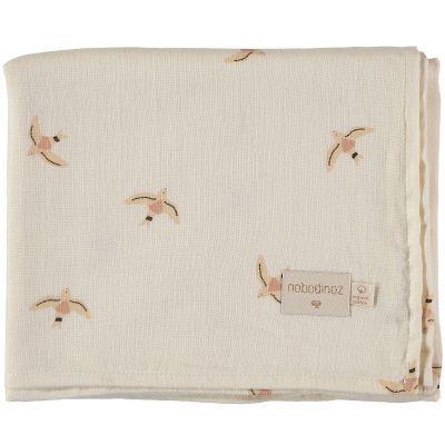 Maxi lange Haiku birds (100 x 120 cm)  par Nobodinoz