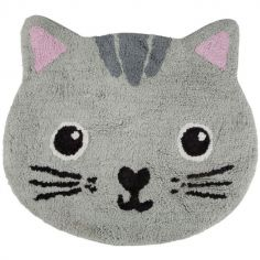 Tapis Kawaii Friends Nori le chat (29 x 60 cm)