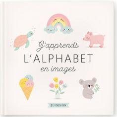 Livre éducatif J'apprends l'alphabet en images