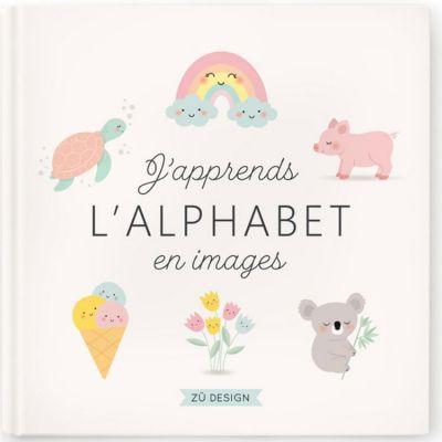 Livre éducatif J'apprends l'alphabet en images  par Zü