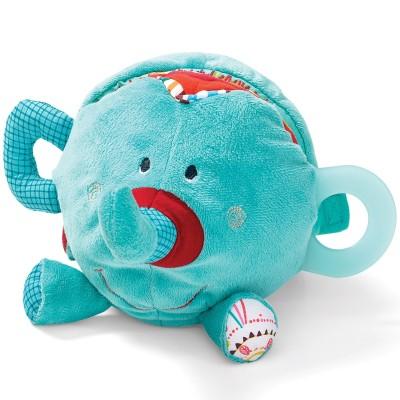 Livre bébé Albert l'éléphant découvertes