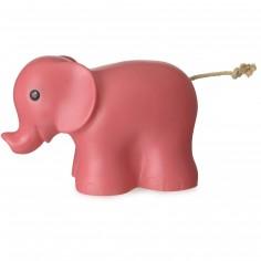 Veilleuse éléphant framboise