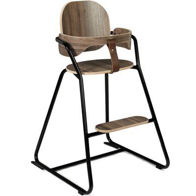 Chaise haute Tibu Black edition avec ceinture  par Charlie Crane
