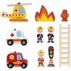 Caserne de pompiers  par Janod