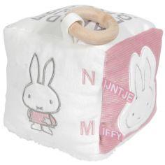 Cube d'activités Miffy rose