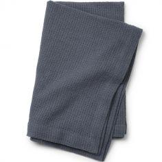 Couverture en coton bleue Tender Blue (70 x 100 cm)