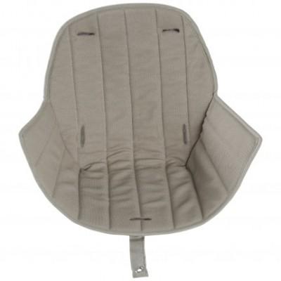 Assise tissu chaise haute Ovo Luxe beige  par Micuna