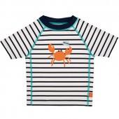 Tee-shirt de protection UV à manches courtes Splash & Fun marin bleu (6 mois) - Lässig