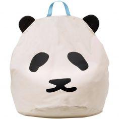 Pouf géant panda (80 x 110 cm)