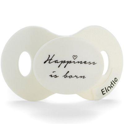 Sucette orthondontique en silicone Happiness is Born (0-6 mois)  par Elodie Details