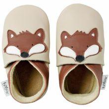 Chaussons bébé cuir Soft soles renard (3-9 mois)  par Bobux