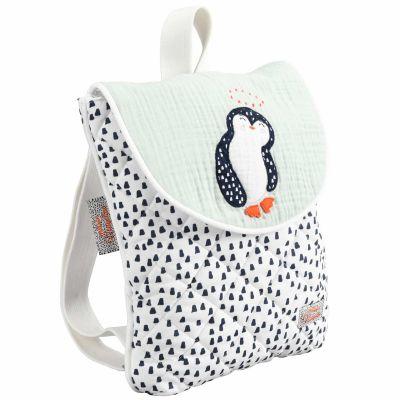 Sac à dos bébé Pingouin  par Nougatine