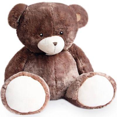 Peluche géante ours Bellydou marron (110 cm)  par Histoire d'Ours