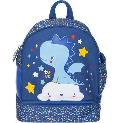Sac à dos enfant Enjoy & Dream dragon bleu  par Tuc Tuc
