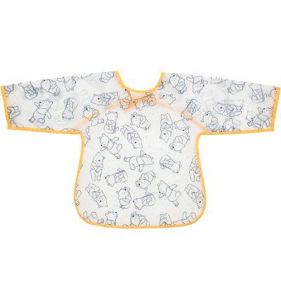 Bavoir à manches plastifié à nouer Winnie l'ourson  par Babycalin