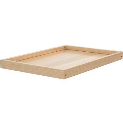 Étagère supplémentaire en bois de hêtre verni pour table à langer Confort  par AT4