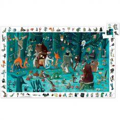Puzzle cherche et trouve Orchestre des animaux (35 pièces)