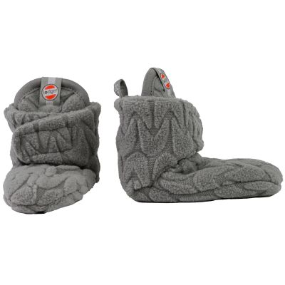 Chaussons gris Slipper Empire (3-6 mois)  par Lodger